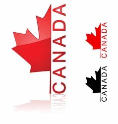 Canada icon vector image vector image