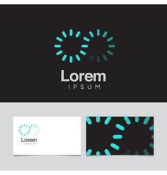 logo design element 48 vector image vector image