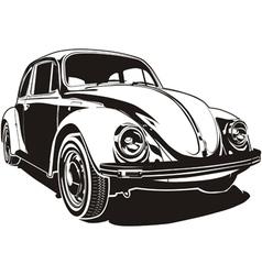 VW bug vector image vector image