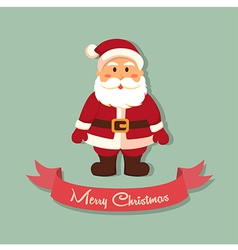 Santa Merry Christmas vector image vector image