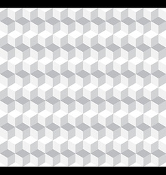 Cubic Seamless Pattern Background vector image