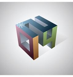 2014 cube logo vector
