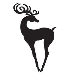Beauty deer vector