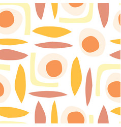 contemporary abstract vintage background vector image