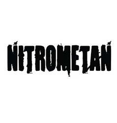 Nitromethane stamp in turkish vector