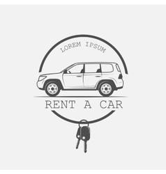 Old american rental vector