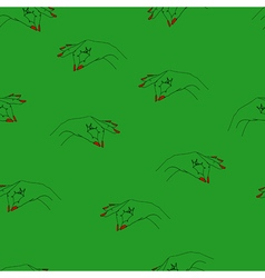 Seamless pattern with arms vector