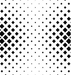 Abstract monochrome square pattern design vector image vector image