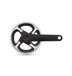 bicycle crank vector image vector image