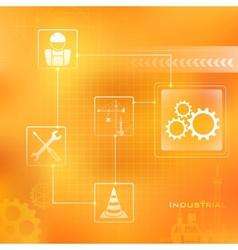 Industrial Background vector image