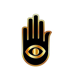 Logo for psychic or mind reader vector image vector image