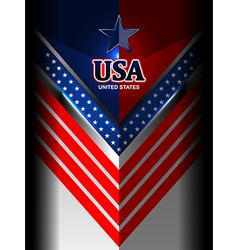 america flag color backgrounds vector image vector image