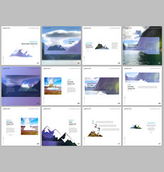 brochure templates covers design templates for vector image