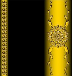 golden vector image