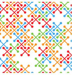 grunge seamless lattice abstract pattern retro vector image