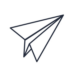 paper airplane creativity imagination free vector image