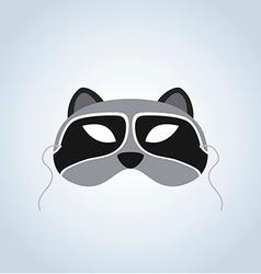 Raccoon Mask vector