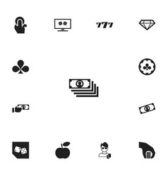 Set of 13 editable excitement icons includes vector