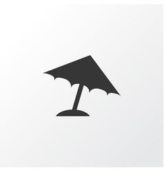 umbrella icon symbol premium quality isolated vector image