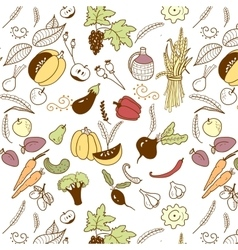 harvest vector image vector image