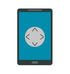 smartphone icon image vector image