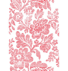 5 Abstract hand-drawn floral seamless pattern vector image vector image