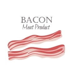 Bacon strips vector image
