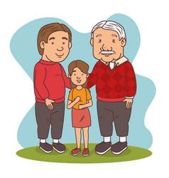 Grandparents day vector