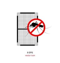Mosquito net isolated vector