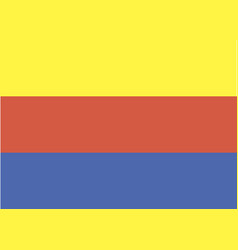 north holland flag vector image