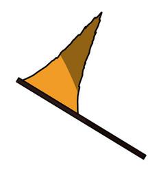 Pennant flag isolated vector