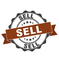 Sell stamp sign seal vector