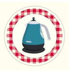 Kitchen teapot vector image vector image