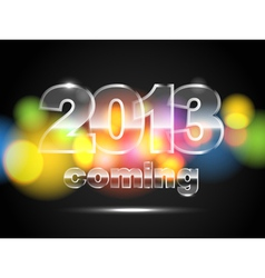 2013 is coming vector image