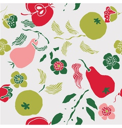 fruit art print vector image