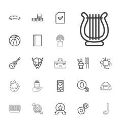 22 symbol icons vector