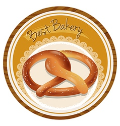 A best bakery label vector