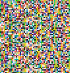 Colored Pixels Background vector