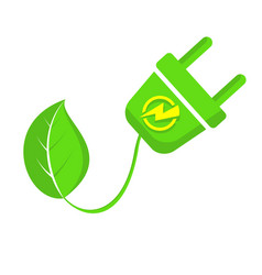 eco green energy concept world environment day vector image