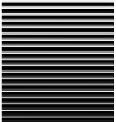Metallic striped background vector image