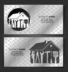 Repair and service house vector