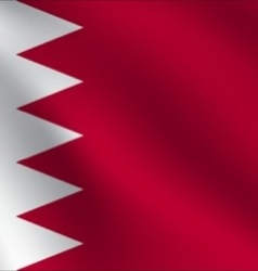 Bahrain flag vector