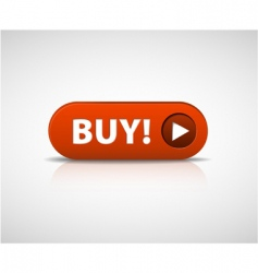 Big red buy now button vector
