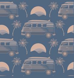 California malibu pattern seamless design vector