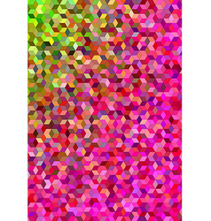 Colorful abstract 3d cube mosaic background vector image