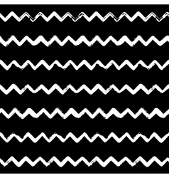 Decorative seamless pattern with handdrawn shapes vector image