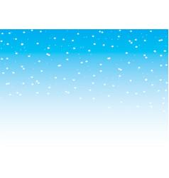 Falling snow seamless pattern vector