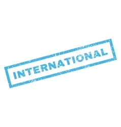 International Rubber Stamp vector