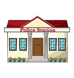 Police Station vector