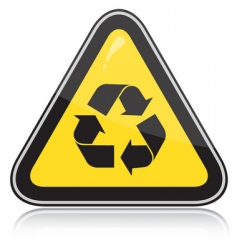 recycle sign vector image